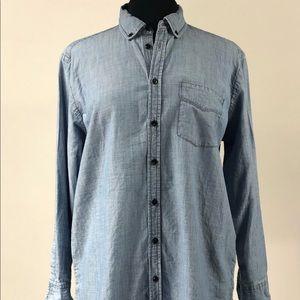 NWOT Madewell Denim Button Up Shirt